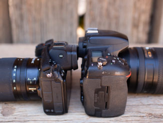 DSLR Vs Mirrorless camera picture for photo adventures