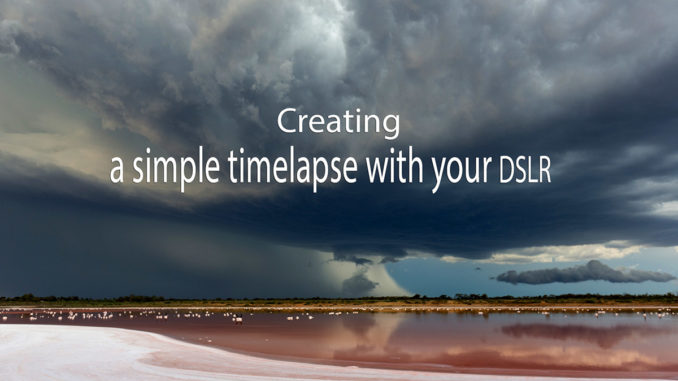 Header image for article on simple tlmelapse creation